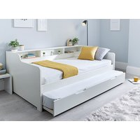 Bedmaster Tyler White Guest Bed - Single, Without Trundle