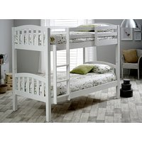 Bedmaster Mya White Bunk Bed - Single
