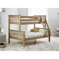 Bedmaster Carra Pine Triple Sleeper Bed - Small Double