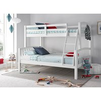 Bedmaster Mya White Triple Sleeper Bed - Small Double