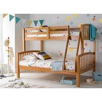 Bedmaster Mya Pine Triple Sleeper Bed - Small Double