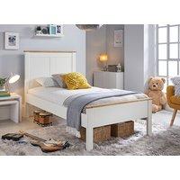 Bedmaster Vigo White Bed - Double