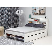 Bedmaster Fabio White Bed - Double