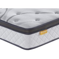 "Sleepsoul heaven 1000 pocket gel pillow top mattress - double (4'6"" x 6'3"")"
