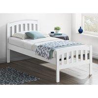 Bedmaster White Lyon Bed Frame - Single