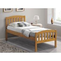 Bedmaster Oak Lyon Bed Frame - Single