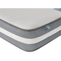 "Silentnight studio gel hybrid mattress - single (3' x 6'3"")"