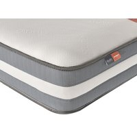 "Silentnight studio memory hybrid mattress - single (3' x 6'3"")"