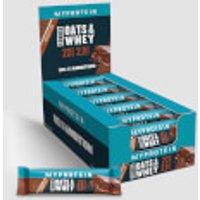 Barrette Proteiche Oats & Whey - Gocce di cioccolato