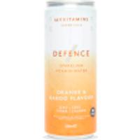 Defence Sparkling Vitamin Water (Sample) - Orange and Mango