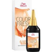 Coloración semi-permanente rojo oscuro caoba rubio WELLA COLOR FRESH - Dark Red Mahogany Blonde 6.45 (75ml)