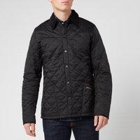 Barbour Mens Heritage Liddesdale Quilt Jacket - Black - XXL