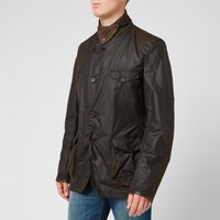 Barbour Mens Beacon Sports Jacket - Olive - S - Green