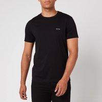 BOSS Mens Basic Crew Shoulder Logo T-Shirt - Black - S