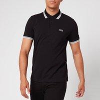 BOSS Mens Paddy Tipped Polo Shirt - Black - L