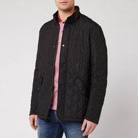 Barbour Heritage Men's Chelsea Sportsquilt Jacket - Black - M