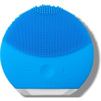 FOREO LUNA Mini 2 Dual-Sided Face Brush for All Skin Types (Various Shades) - Azul