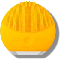 FOREO LUNA Mini 2 Dual-Sided Face Brush for All Skin Types (Various Shades) - Amarillo