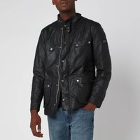 Barbour International Mens Duke Wax Jacket - Sage - L