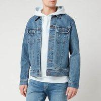 A.P.C. Men's Denim Jacket - Indigo - M - Blue