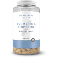 Turmeric & Bioperine(r) Capsules - 180Capsules