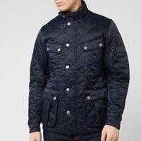 Barbour International Mens Ariel Quilt Jacket - Navy - M