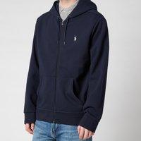 Polo Ralph Lauren Men's Double Knit Full Zip Hoodie - Aviator Navy - XXL