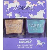 Kit de un par de esmaltes Sparkle Like a Unicorn de nails inc. 2 x 14 ml