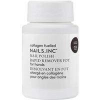 Quitaesmalte exprés Pot Powered by Collagen de nails inc. 60 ml