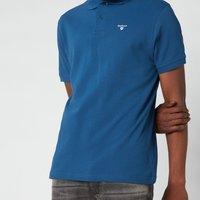 Barbour Mens Sport Polo Shirt - Deep Blue - M - Blue