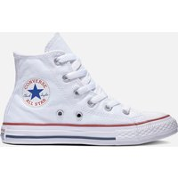 Converse Kids' Chuck Taylor All Star Hi - Top Tainers - Optical White - UK 2 Kids