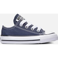 Converse Toddlers' Chuck Taylor All Star Ox Trainers - Navy - UK 6 Toddler