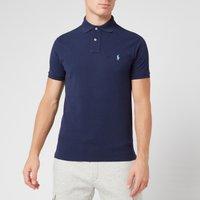 Polo Ralph Lauren Men's Slim Fit Short Sleeved Polo Shirt - Newport Navy - XL