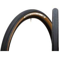 Panaracer GravelKing Slick TLC Folding Tyre - 700C x 32mm - black/brown
