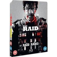 The Raid 1 & 2 - Zavvi Exclusive Limited Edition Steelbook (Title Debossed)