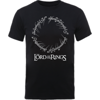 The Lord Of The Rings Men's T-Shirt in Black - M