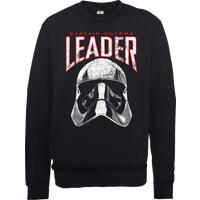 Star Wars The Last Jedi Captain Phasma Men's Black Sweatshirt - L - Black