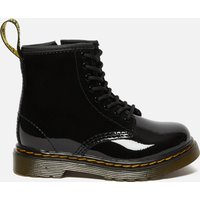 Dr. Martens Toddlers 1460 T Patent Limper Lace Up Boots - Black - UK 6 Kids