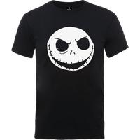 Disney The Nightmare Before Christmas Jack Skellington Black T-Shirt - M