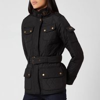 Barbour International Womens Tourer Polarquilt Jacket - Black - UK 14