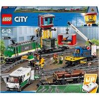 'Lego City: Cargo Train Rc Battery Powered Set (60198)