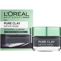 Mascarilla con arcillas puras limpiadora de L'Oréal Paris 50 ml