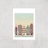 Amsterdam Art Print - A3 - Print Only