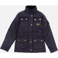 Barbour Girls International Quilt Jacket - Black/Black - L/10-11 years - Black