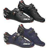 Sidi Wire 2 Carbon Matt Road Shoes - EU 45 - Matt Black