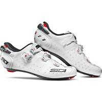Sidi Wire 2 Carbon Road Shoes - White/White - EU 42 - White/White