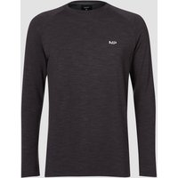 MP Men's Performance Long-Sleeve T-Shirt - Black Marl - XXXL
