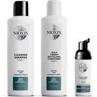 NIOXIN 3-Part System 2 Trial Kit for Natural Hair with Progressed Thinning