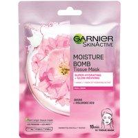 Garnier Moisture Bomb Sakura Hydrating Face Sheet Mask for Dull Skin 32g