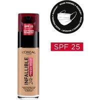 L'Oréal Paris Infallible 24hr Freshwear Liquid Foundation (Various Shades) - 140 Golden Beige